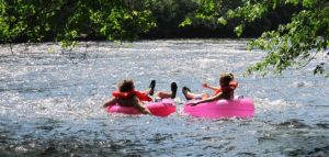 Toccoa valley campground tubing