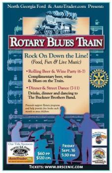 Rotary blues crawl